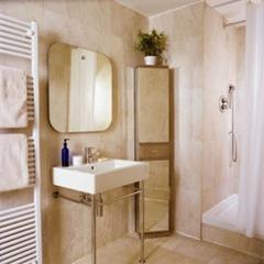 Угловой шкаф в ванную. Экономим пространство