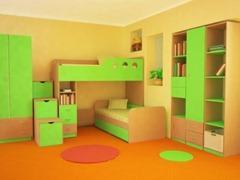 Детская кровать со шкафом – важный элемент детской комнаты